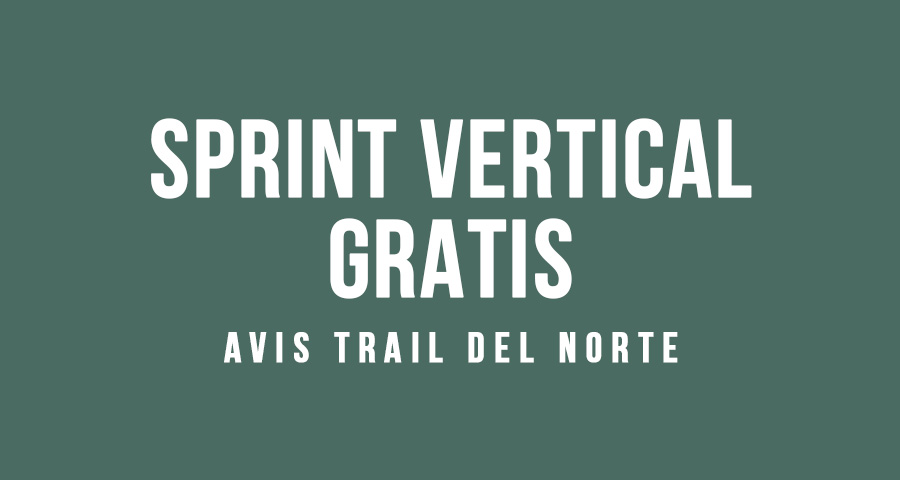 plantilla trail del norte